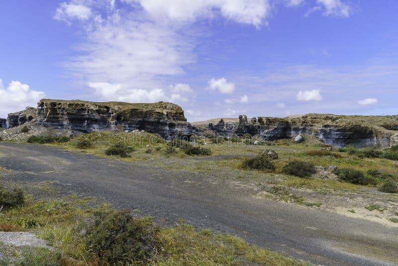 Paisagem de Lanzarote imagem de stock royalty free