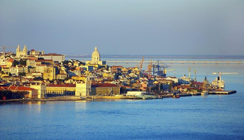 Paisagem de Lisboa, Portugal. foto de stock