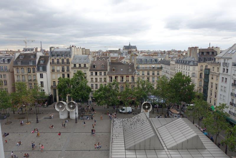 Paisagem de Paris fotos de stock