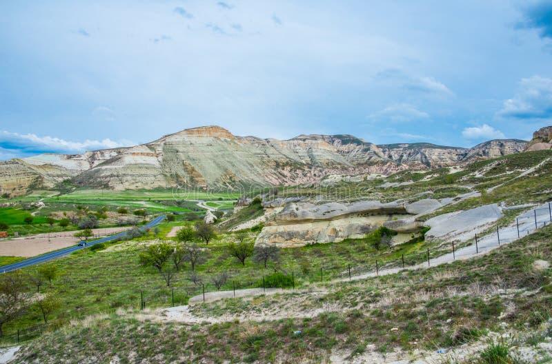 Paisagem de pedra de Cappadocia fotos de stock