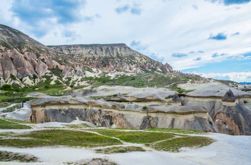 Paisagem de pedra de Cappadocia imagem de stock royalty free