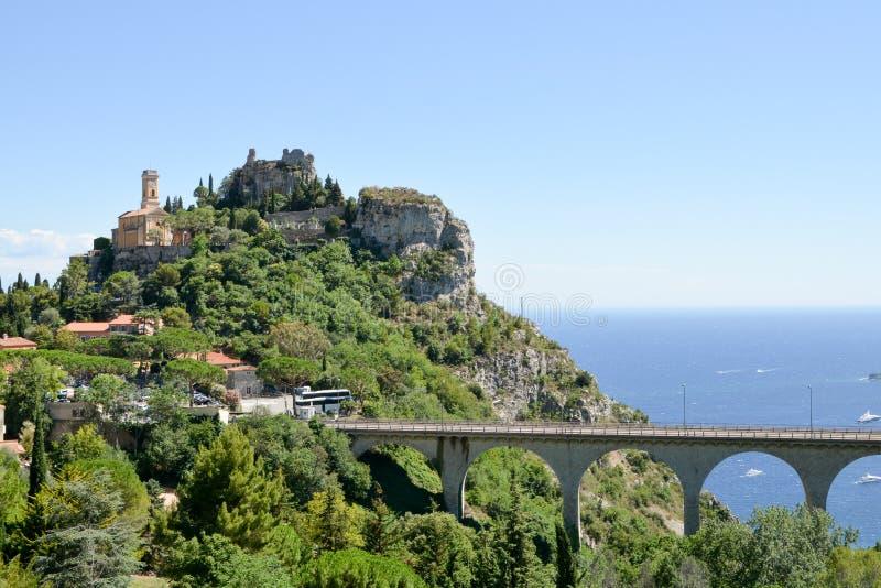 Paisagem de Provence - Eze fotos de stock