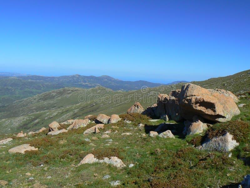 Paisagem de Sardinia fotografia de stock