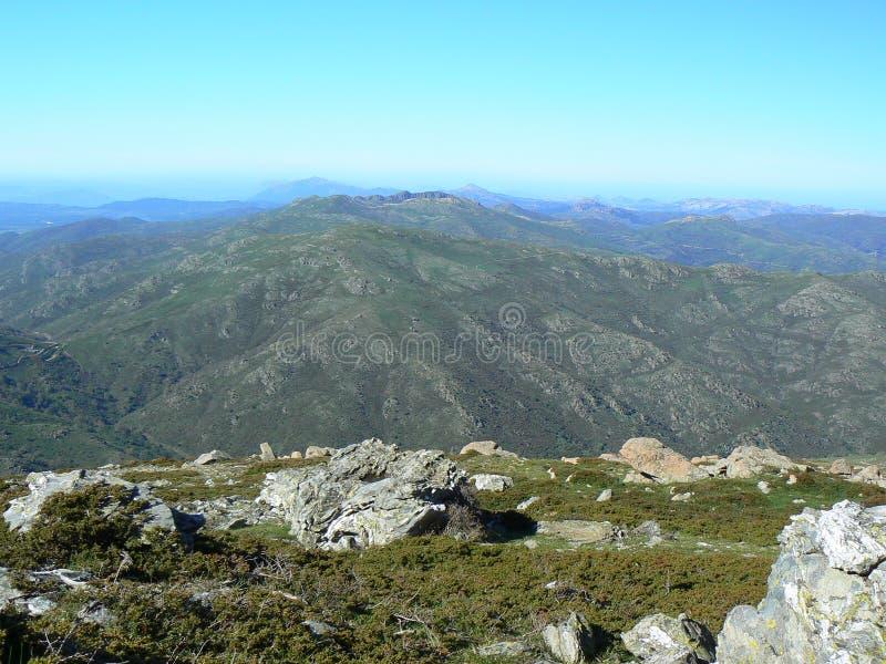 Paisagem de Sardinia fotos de stock royalty free