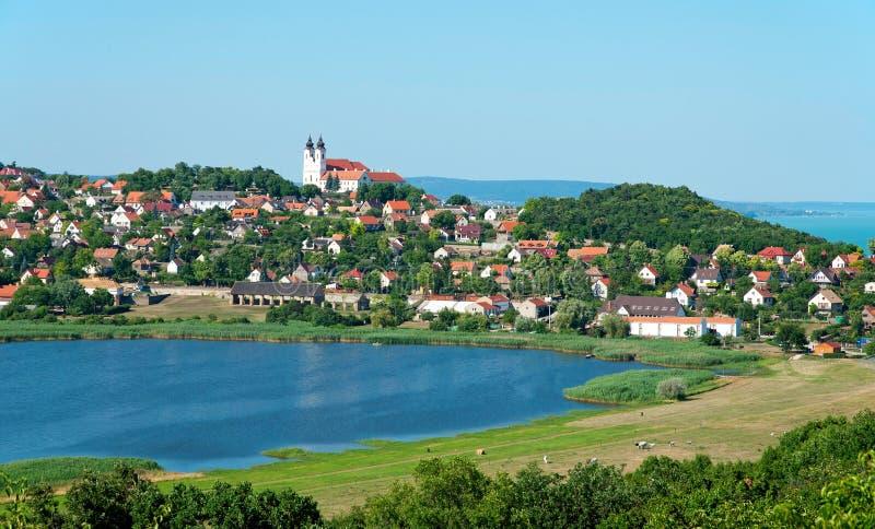 Paisagem de Tihany, Hungria imagem de stock royalty free