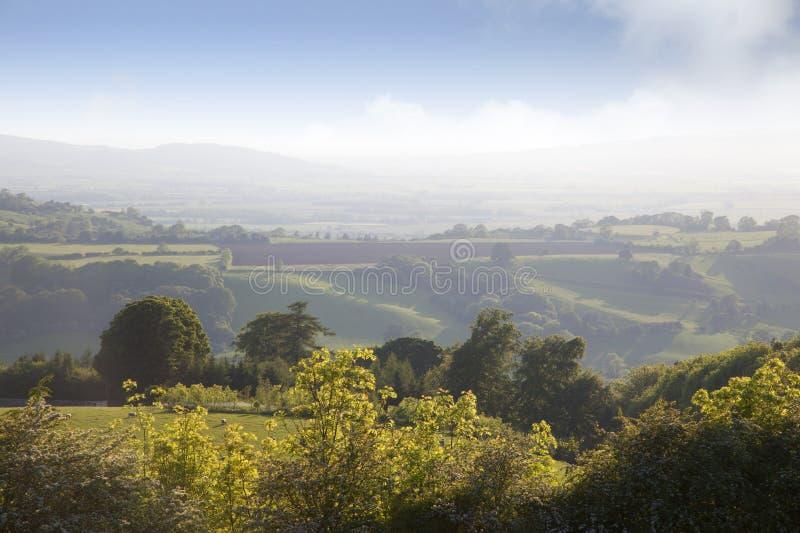 Paisagem de Worcestershire fotografia de stock royalty free