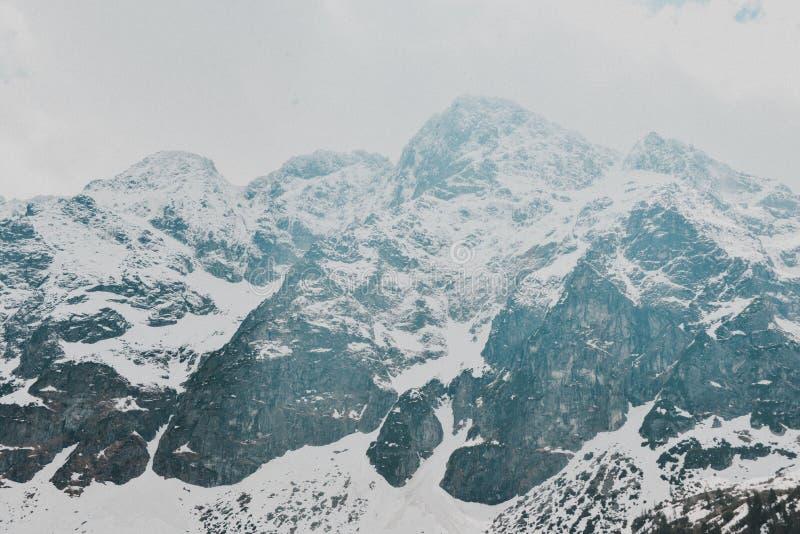 Paisagem de Zakopane das montanhas de Tatry fotografia de stock royalty free