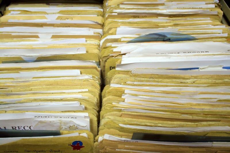 Paisagem dental dos registros imagem de stock