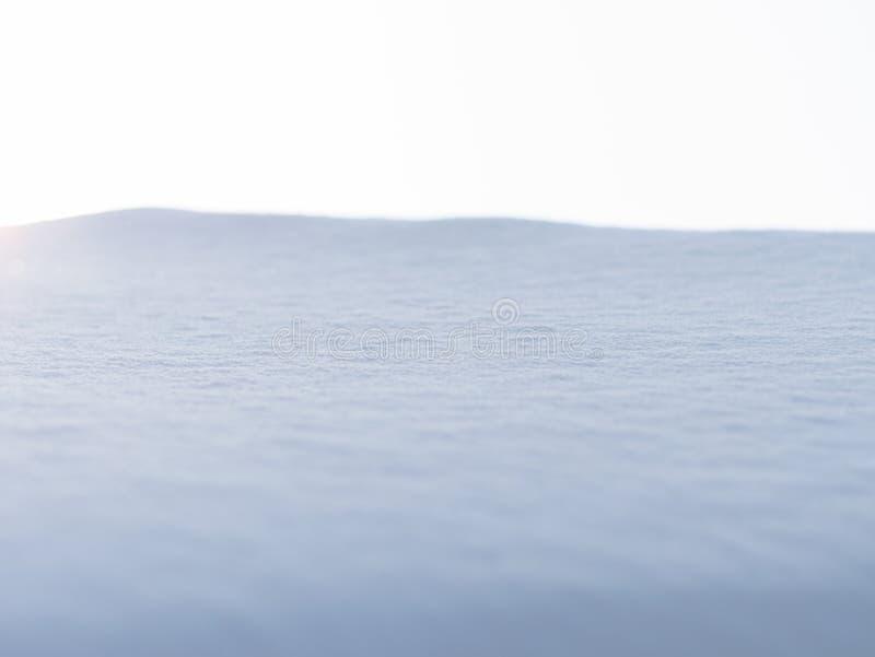 Paisagem Deserto nevado, Nova Zelândia fotos de stock royalty free