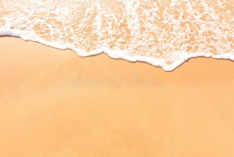Paisagem do abrandamento da praia do mar imagens de stock royalty free