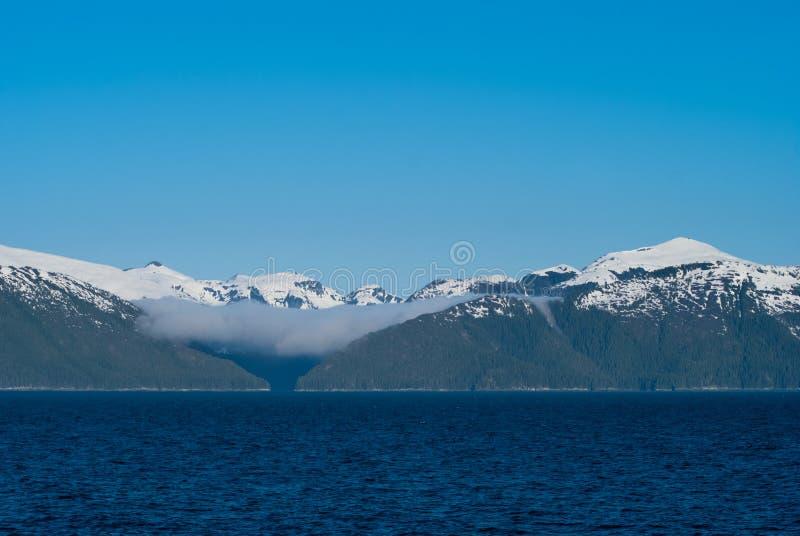 Paisagem do Alasca imagem de stock