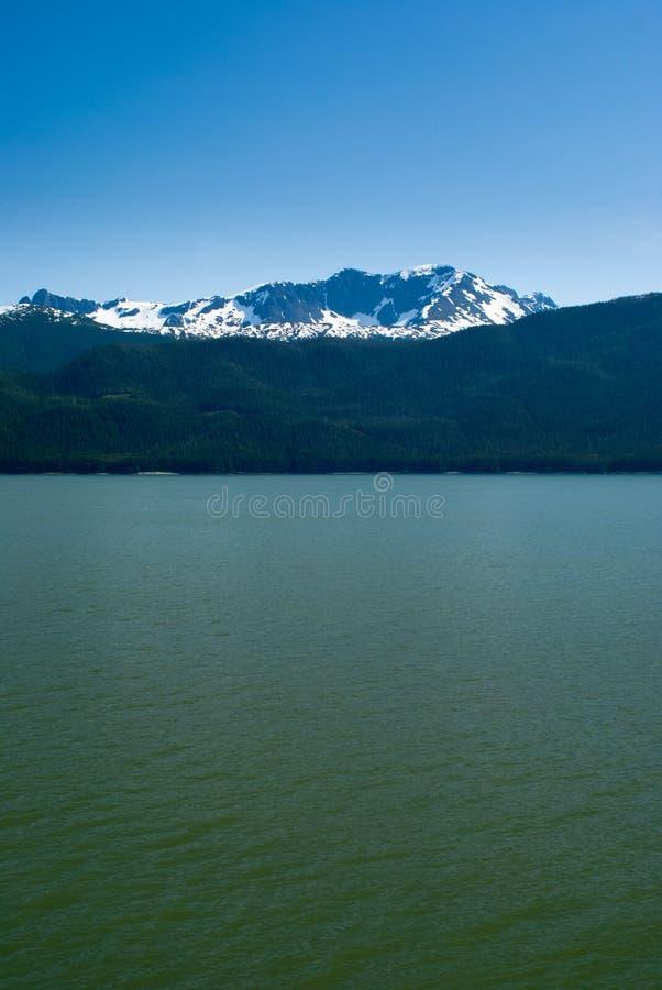 Paisagem do Alasca foto de stock