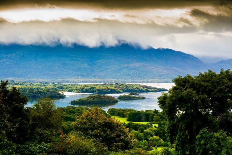 Paisagem do anel do Kerry Killarney, Kerry ireland foto de stock royalty free