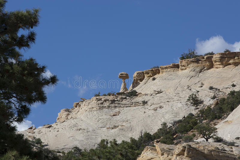 Paisagem do azarento perto de Bryce Canyon fotos de stock