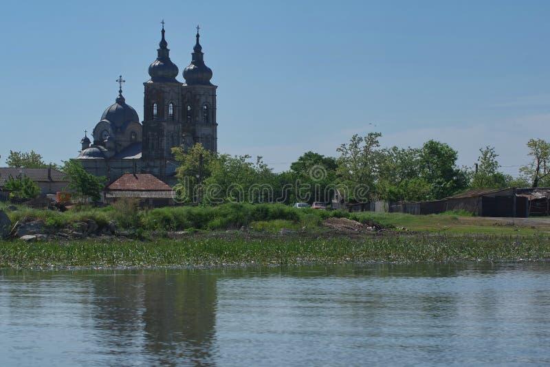 Paisagem 3 do delta de Danúbio imagens de stock