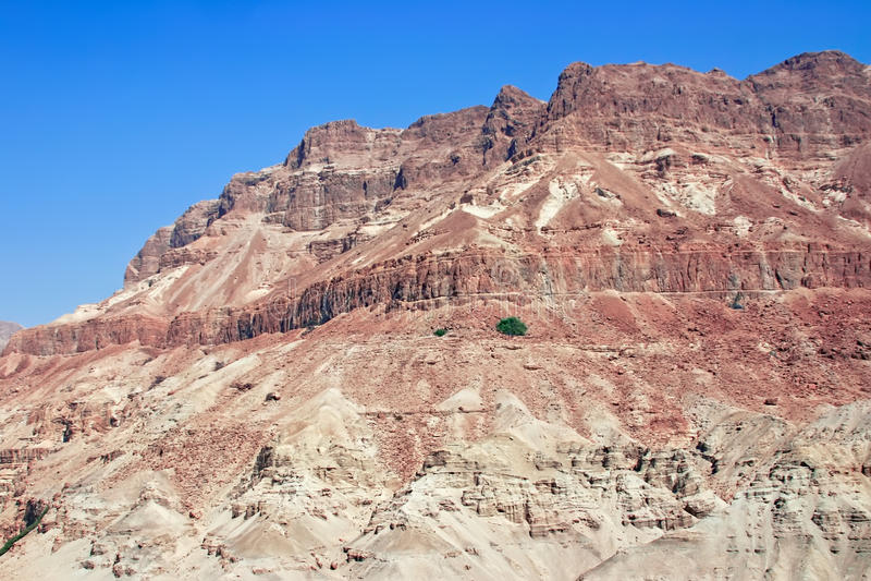 Paisagem do deserto (cena bíblica) imagens de stock royalty free