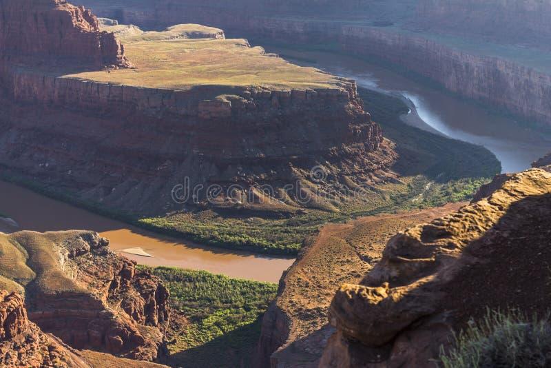 Paisagem do deserto do parque estadual do cavalo inoperante foto de stock royalty free