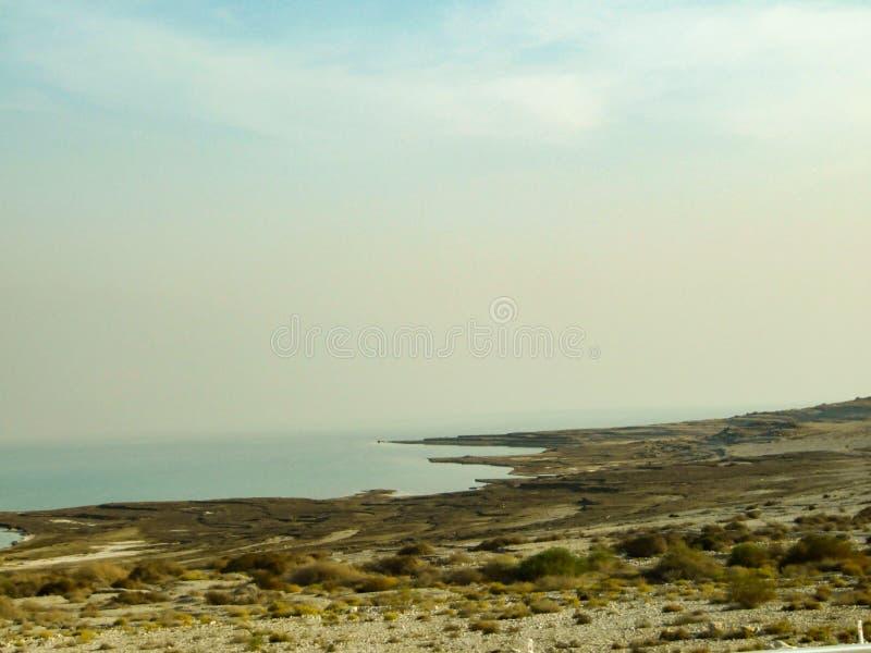 Paisagem do deserto perto do Mar Morto no alvorecer, Israel fotografia de stock royalty free