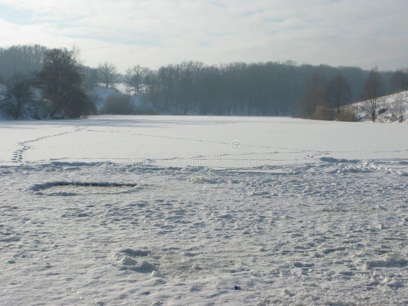 Download Paisagem do inverno imagem de stock. Imagem de snowy - 107526325