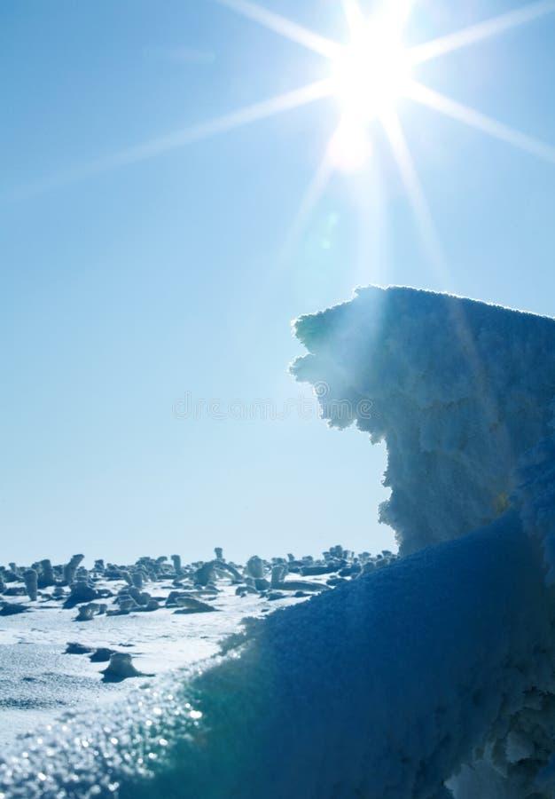 Download Paisagem do inverno imagem de stock. Imagem de inverno - 12802247
