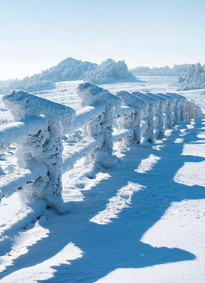 Download Paisagem do inverno imagem de stock. Imagem de janeiro - 12802889