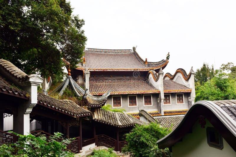 Paisagem do jardim antigo chinês fotos de stock