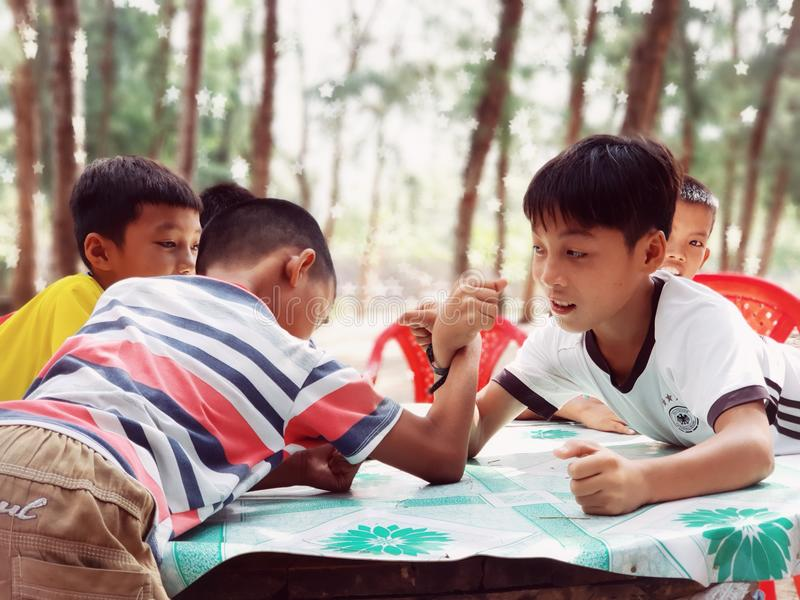 Paisagem do mar de Vietname imagens de stock royalty free