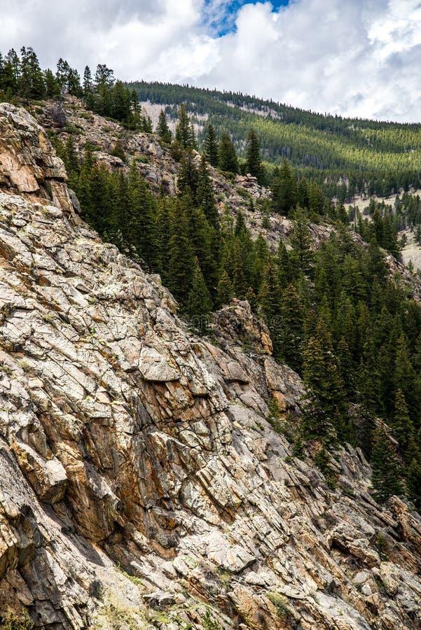 Paisagem do Mt Evans Rocky Mountain Colorado fotos de stock royalty free