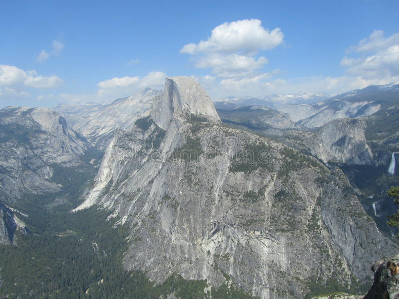 Paisagem do parque de Yosemite, o Capitan imagens de stock royalty free