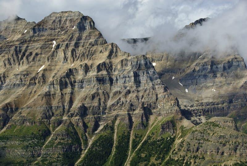 Paisagem do parque nacional de Banff imagem de stock royalty free