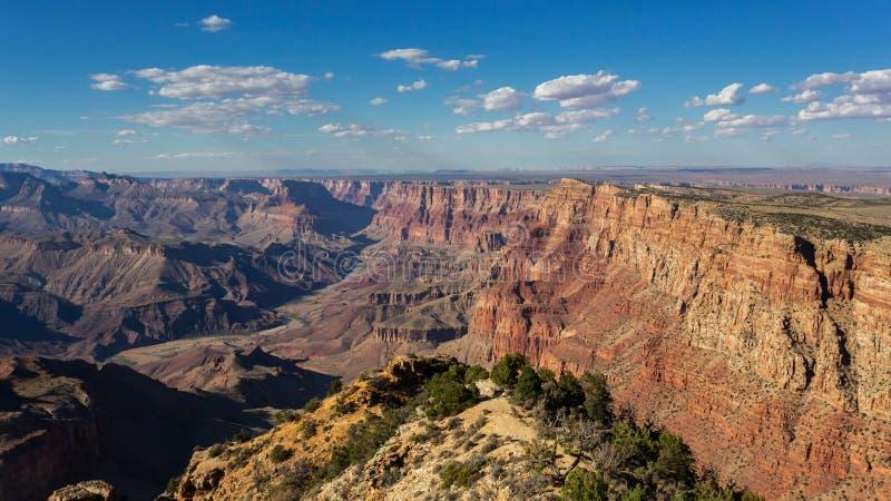 Paisagem do parque nacional do Grand Canyon, o Arizona fotos de stock