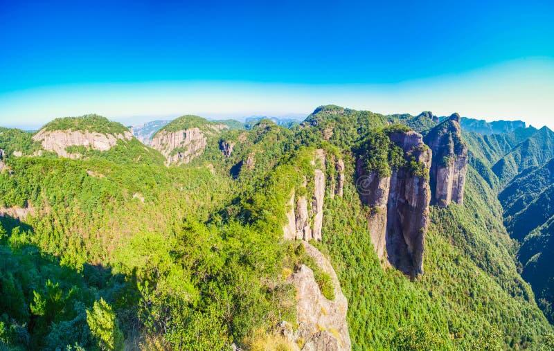 Paisagem do pico famoso de China imagens de stock