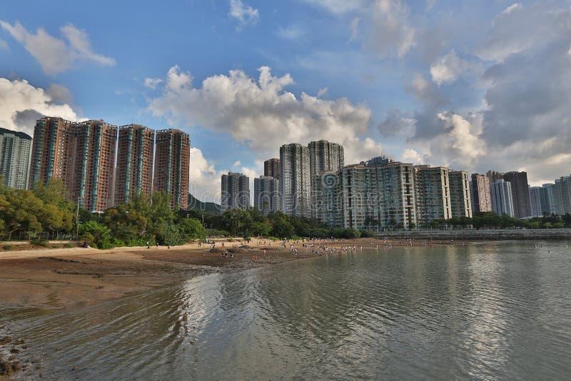 Paisagem do porto de Tolo em Hong Kong Ma On Shan fotografia de stock royalty free