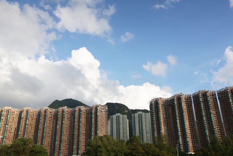 Paisagem do porto de Tolo em Hong Kong Ma On Shan fotos de stock royalty free