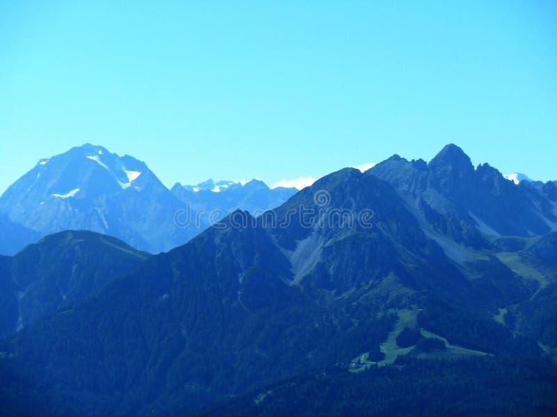 Paisagem dos Alpes Austríacos fotos de stock royalty free