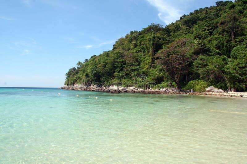 paisagem dos trópicos de phuket le meridiano em Tailândia foto de stock royalty free