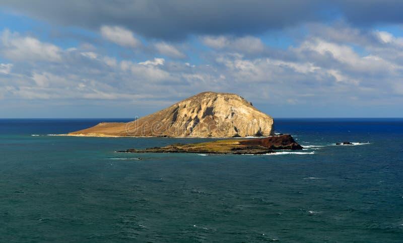 Paisagem dramática de Oahu, Havaí foto de stock royalty free