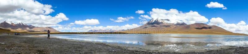 Paisagem em Bolívia fotografia de stock