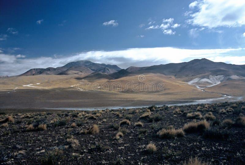 Paisagem em Bolívia, Bolívia fotos de stock