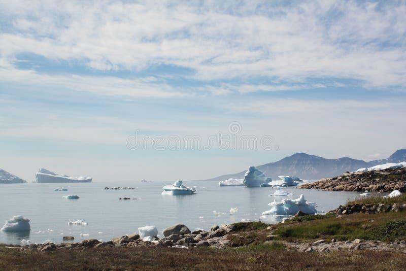 Paisagem em Gronelândia fotos de stock royalty free