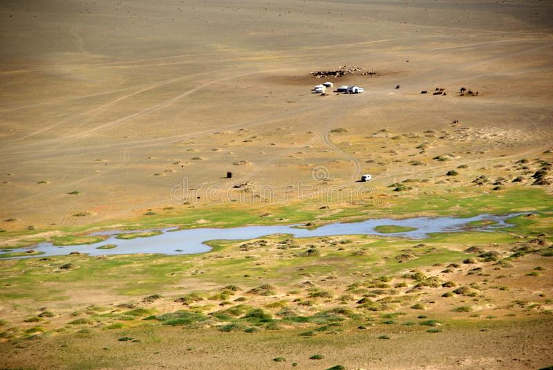 Paisagem em Mongolia fotos de stock