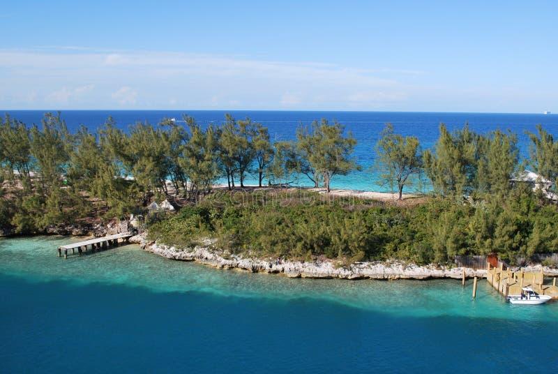 Paisagem em Nassau, Bahamas fotografia de stock royalty free