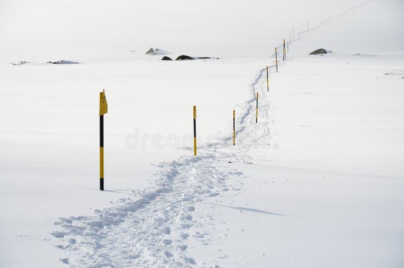 Paisagem invernal da montanha imagens de stock royalty free