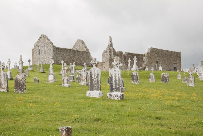 Paisagem irlandesa fotografia de stock