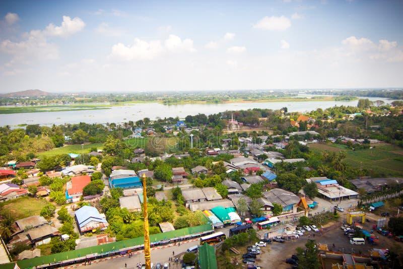 Paisagem lateral do país - Tailândia foto de stock royalty free