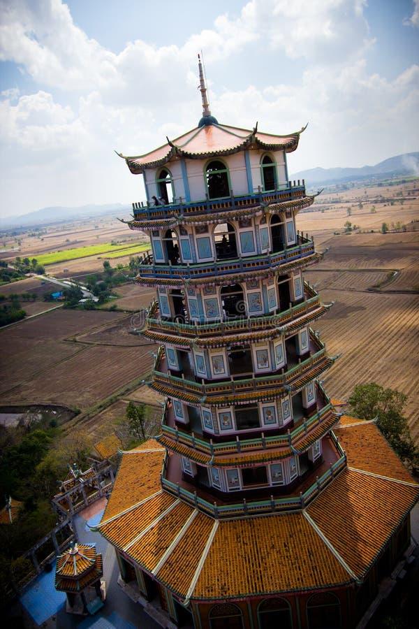 Paisagem lateral do país - Tailândia foto de stock