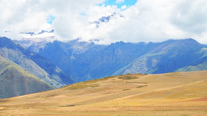 Paisagem longe de Cusco, Peru foto de stock royalty free