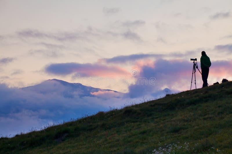 Paisagem majestosa com as montanhas famosas da dolomite, Itália Europa que aturde o cenário da natureza e do destino pitoresco do fotos de stock royalty free