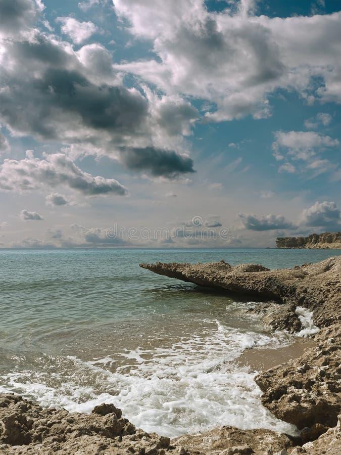 Paisagem marinha. foto de stock