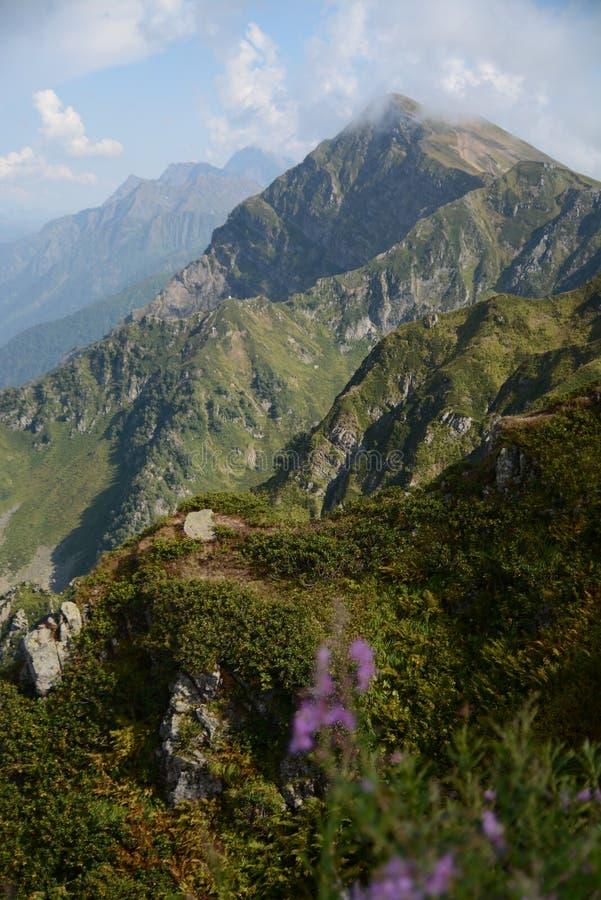 Paisagem, montanhas fotografia de stock royalty free